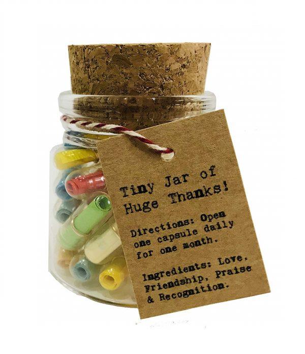 Tiny Jar of Big Thanks
