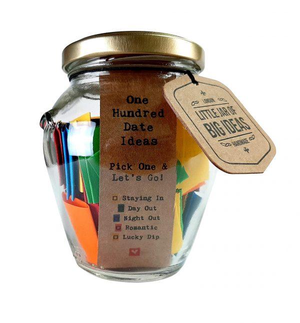 100 Date Ideas Jar