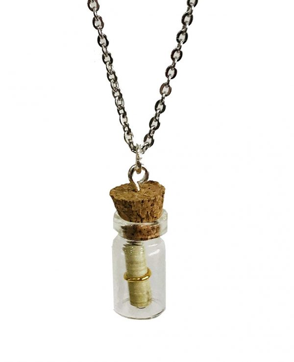 Mini Message Bottle Necklace