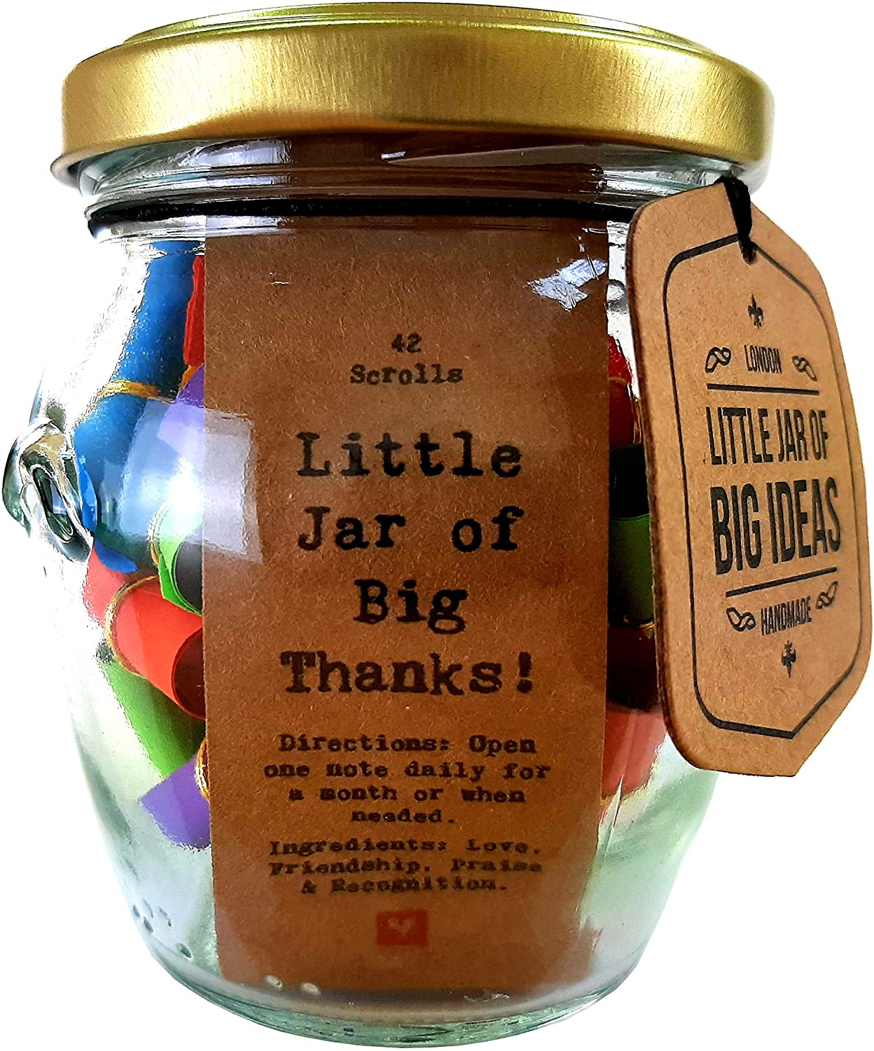 Little Jar Of Big Thanks Little Jar Of Big Ideas