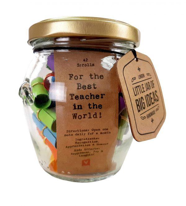 teacher jar gift
