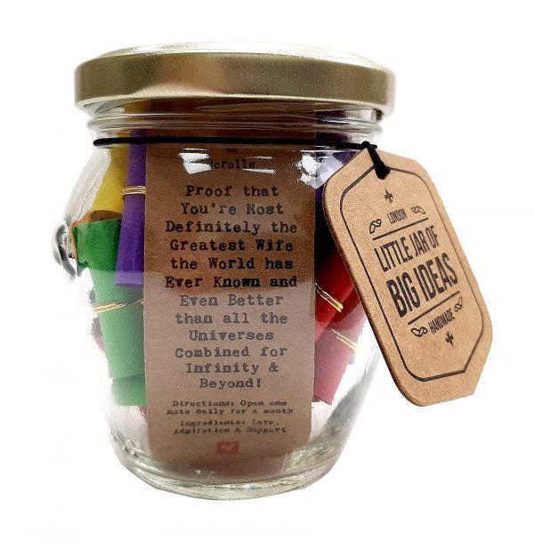 wife jar gift